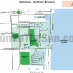 Map of Hallandale Eruv