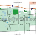 Map of Hollywood Eruv